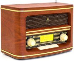 GPO Winchester Retro Radio DAB+ Wood - GPO Winchester Retro Radio DAB+ Wood