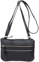 Zwarte Cowboysbag Bag Tiverton Schoudertas Black 1677