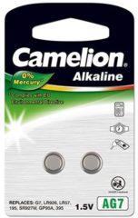 Camelion AG7 Knoopcel Alkaline (Alkali-mangaan) 45 mAh 1.5 V 2 stuks