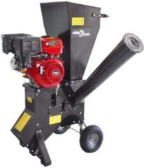 Zwarte VidaXL Houtversnipperaar op benzine met 13 pk motor