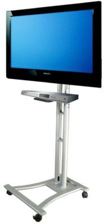 Afbeelding van NewStar Products PLASMA-M1800E TV-houder op wieltjes 68,6 cm (27) - 177,8 cm (70) Kantelbaar