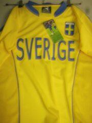 Blauwe Jsl jersey Compleet voetbaltenue Sverige Zweden