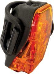 Zwarte Lezyne Laser Projector achterlamp - Achterlichten