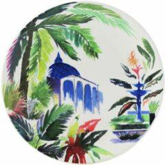 GIEN FRANCE - Jardin Extraordinaires - Gebakbordje 17cm Orient