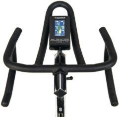 Zwarte Toorx Fitness Toorx SRX-3500 Indoor Cycle met vrijloop Spinbike - Kinomap en iConsole+App