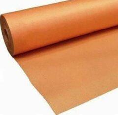 Oranje Orange Line Ondervloer Orange-Line, 2mm, rol 15mtr, met overlap en zelfklevende strip, de budget ondervloer voor laminaat.