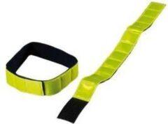 Wowow Reflectie ww jogging band geel ds a 2