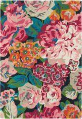 Sanderson - Laagpolig vloerkleed Sanderson Rose & Peony Cerise 45005 - 140x200 cm