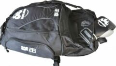 Witte Punch Round™ Boxing Sporttas Rugtas Gym Bag Black Ice Punch Round™ Sporttas