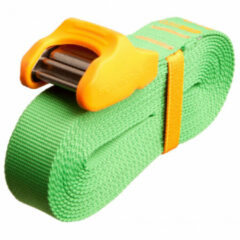 Sea to Summit - Tie Down Strap with Silicone Cam Cover maat 4,5 m oranje