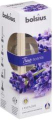 Paarse Bolsius Aromatic Geurstokjes 45ml LAVENDEL | True Scents Bolsius | Long lasting fragrance | geurverspreider