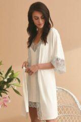 Vanilla Night & Day Dames Nachtmode kimono Maat S/M