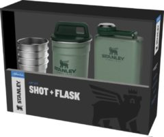 Stanley PMI Stanley The Pre-Party Shot Glas + Flask Set - RVS/Groen