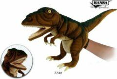 Groene Hansa Creation Tyrannosaurus handpop roestbruin bruin 7749 lxbxh = 50x20x30cm