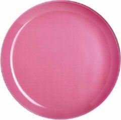 Luminarc Arty Servies - Diepe Borden - Roze - D20cm - Glas - (set van 6) En Yourkitchen E-kookboek - Heerlijke Smulrecepten