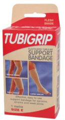 Huidskleurige Tubigrip E - beige - 1 maat- Brace