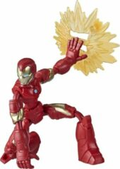 Hasbro Iron Man - Marvel Avengers Bend and Flex- Speelfiguur 15 cm