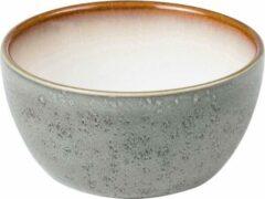 Bitz - Kom keramiek grijs / crème - Diameter 10 cm - Hoogte 5 cm