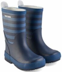 Tretorn - Kid's Gränna - Rubberen laarzen maat 19, blauw/grijs/zwart