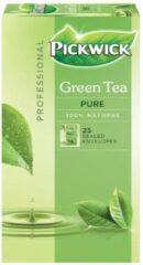 Pickwick thee, groene thee Pure, pak van 25 zakjes