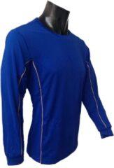 KWD Shirt Diablo lange mouw - Kobaltblauw - Maat 116