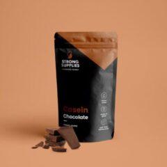 Strong Supplies - Caseïne-eitwitshake Chocolade 10x31gr