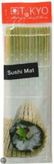 Groene Tokyo Sushi Mat - 24 x 21 cm - 3 stuks
