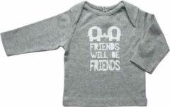 Grijze Zero2three Unisex T-shirt Maat 62