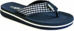 Trentino Slippers Junior Arona Blauw Maat: 34