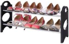 Ben Tools Stackable schoenenrek / schoenenstandaard - 64 x 20 x 34 cm - metaal / plastic