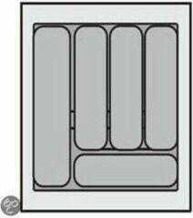 Zilveren Bestekbak Organiser universeel inzetbaar, 351 - 400 mm breed, 441 - 520 mm diep.