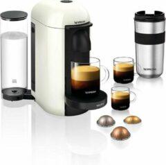 Witte Krups YY3916FD Nespresso-koffiezetapparaat Vertuo + Plus capsules Espresso Lungo-mok Alto White