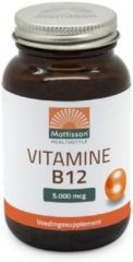 Mattisson HealthStyle Vitamine B12 5000mcg Tabletten