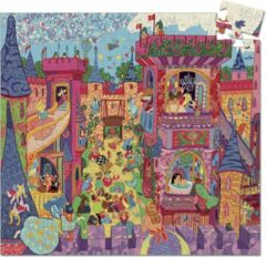Paarse Djeco - Het sprookjeskasteel - 54 stukjes