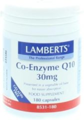 Lamberts Co enzym Q10 30 mg 180 Vegacaps