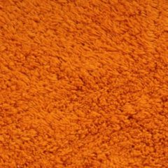 VidaXL Badmattenset stof oranje 3-delig