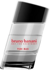 Zilveren Bruno Banani Pure Man Eau de Toilette (EdT) 50 ml - grau, silber
