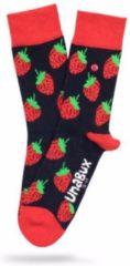 Rode Unabux - strawberry love - Unisex - maat 36-40