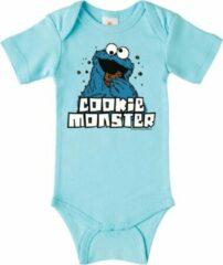 Lichtblauwe Logoshirt Baby Rompertje Maat 74/80