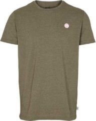 Kronstadt Timmi Recycled Cotton T-shirt Donkergroen