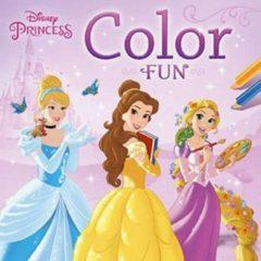 Zuidnederlandse Uitgeverij Znu Disney Kleurboek Color Fun Princess 22 Cm