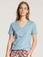 Calida Calida dames pyjamatop kort 14051 blue fog