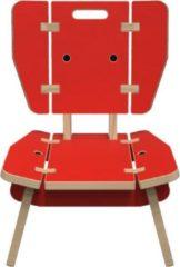 IKC Kindermeubel - Buxus lounge stoel rood