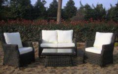 Baidani Rundrattan Garten Lounge Garnitur Palace