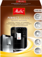 Melitta Haushaltsprod Perfect Clean Espr.M (4 Stück) - Pflegeset f.Espresso Perfect Clean Espr.M
