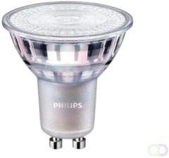Zilveren Deltafix Philips LEDspot MV Value GU10 4.9W 927 36D (MASTER) | Beste Kleurweergave - DimTone Dimbaar - Vervangt 50W
