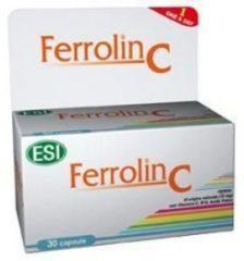 Esi Ferrolin C integratore di ferro 30 capsule