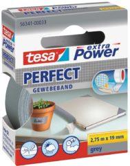 Tesa tesa Extra Power Textieltape Grijs (l x b) 2.75 m x 19 mm Rubber Inhoud: 1 rollen