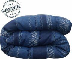 Bedlin Dekbed bedrukt 240x220cm African Blue
