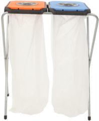 Artex EkoThinks Afvalzakhouder - Prullenbak - Inhoud 80 Liter (2 x 40) - Geschikt Voor 2 Zakken - Oranje